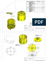 Drilling Bucket, Model Tqdc-14001200