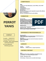 CV Yanis Perrot