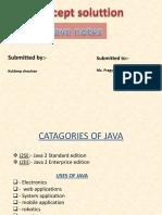 JAVA Document