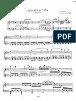 Beethoven sonata Op. 110 urtext
