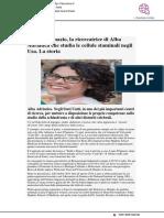 Laura d'Ignazio, la ricercatrice di Alba Adriatica che studia le staminali negli USA - Cityrumors.it, 31 gennaio 2019