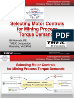 Selecting Motor Controls Mining Process TMEIC May 2013