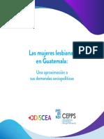 Odiscea Diágnostico -Demandas Sociopolíticas de Las Lesbianas en Guatemala