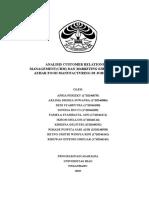 Contoh Laporan Kapita Selekta Universitas Riau