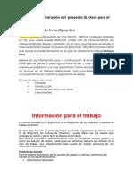 Guia Para La Elaboracion Del Proyecto de Clase Ergonomia-1er-Parcial