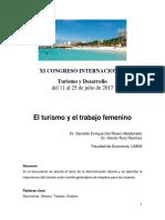 El Turismo y El Trabajo Femenino