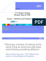 P17 System Testing 01_Definition and Purpose of Testing