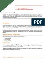 Xilinx Answer 58495 PCIe Interrupt Debugging Guide