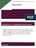 Hyperemesis Gravidarum