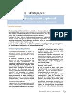 Empirical Management Explored
