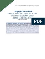 Arguello Parra, Andres Pedagogía Decolonial
