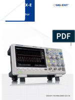 SDS1202X-E Dual Channel Digital Oscilloscope
