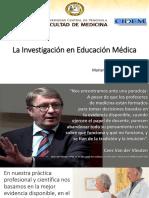 Investigación en Educación Médica 2018