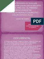 Ponencia Golpe de Timon 2018-2019