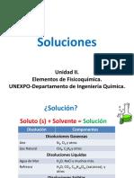 Unidad II Soluciones