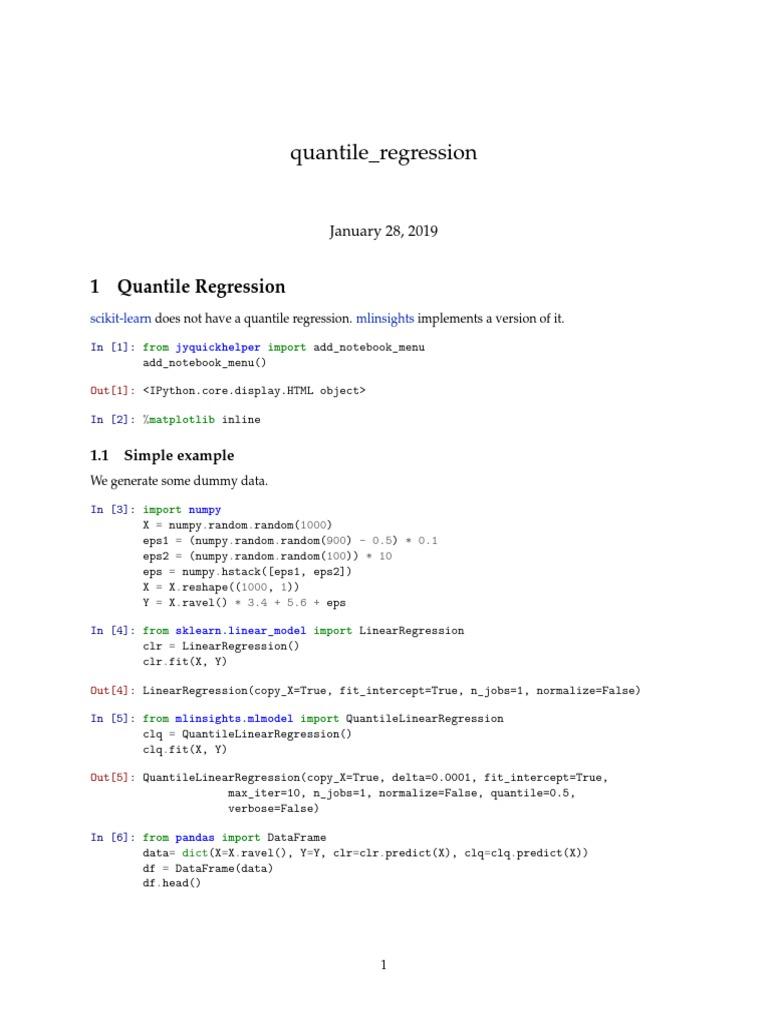 Quantile Regression Explained | Linear Regression