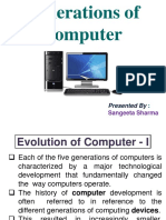 Generation of Computers _Sangeeta Sharma