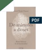 3. de Animales a Dioses Cap 14. Yuval Noah Harari