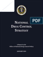 ONDCP National Drug Control Strategy, 2019