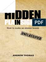 (Hidden in Plain Sight 8) Andrew H. Thomas-How to Make an Atomic Bomb-CreateSpace (2017)