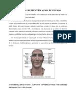 Documento Tecnicas de Identificación de Cráneo