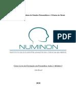 Numinon - Instituto de Estudos Psicanalíticos e Ciências da Mente - Apostila 2 Módulo 1