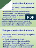 efectul biologic al radiatiilor