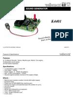 Sound Effects Generator Kit