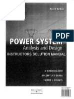 Solution to Power System Analysis, Glover sharma.pdf