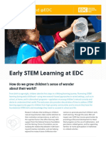 Early STEM Factsheet