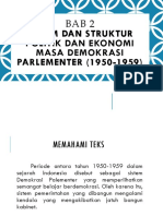 BAB 2 Sistem & Struktur Politik & Ekonomi Masa Demokrasi Parlementer 1950-1959.pptx