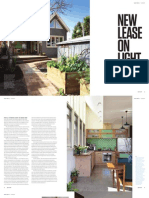 Sanctuary magazine issue 13 - New Lease on Light - Thornbury, VIC green home profile