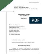Interlocutòria del Tribunal Suprem del judici del procés