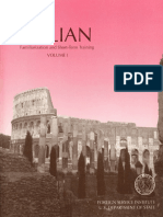 Italian Familiarization and Short Term Training - Volume 1