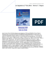 Metodos Numericos Para Ingenieros (7ª Ed)