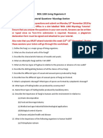 Tutorial 6- Mycology