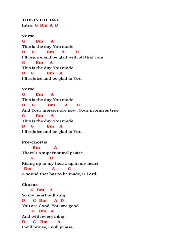 Lyrics and Chords 15   Song Structure   Religious Behaviour And ...