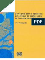 Arriagada Guia de Capital Social