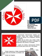 Apresentacao Ordem de Malta