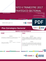 Informe 2do Trimestre Plan Sectorial 2017