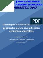 Jornastec 2017 Economía TIC