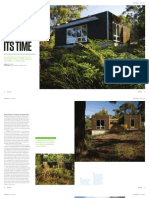 Sanctuary magazine issue 13 - Ahead of its Time - Spring Beach, TAS green home profile