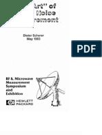 U11613 Phase Noise Measurement Art- Scherer