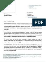 Bedankingsbrief Van OBK-direksie