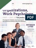 Organizations Work Psychology[15]