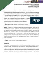 La nueva sociología de la educación y las teorías de la reproducción y la resistencia. José Eriberto Cifuentes Medina. Universidad Pedagógica y Tecnológica de Colombia.