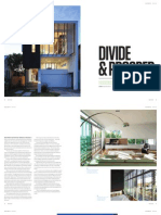 Sanctuary magazine issue 13 - Divide & Prosper - Newstead, QLD green home profile