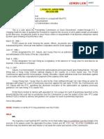 20 Cases Set 2 - Admin Law