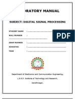 Dsp Manual New
