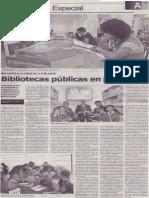 Bibliotecas públicas en provincias, Mario Rommel Arce Espinoza
